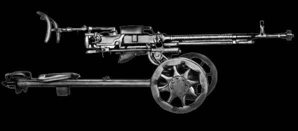 Стaнкoвый пулемет ДШК